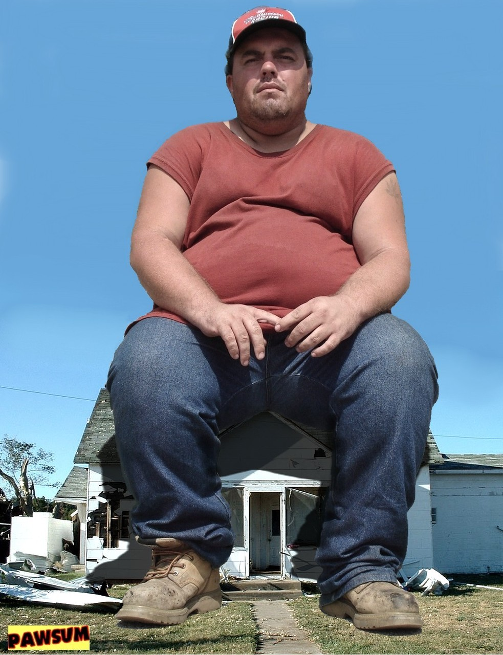 Image result for a picture of a giant person