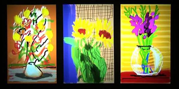 Image result for david hockney iphone art