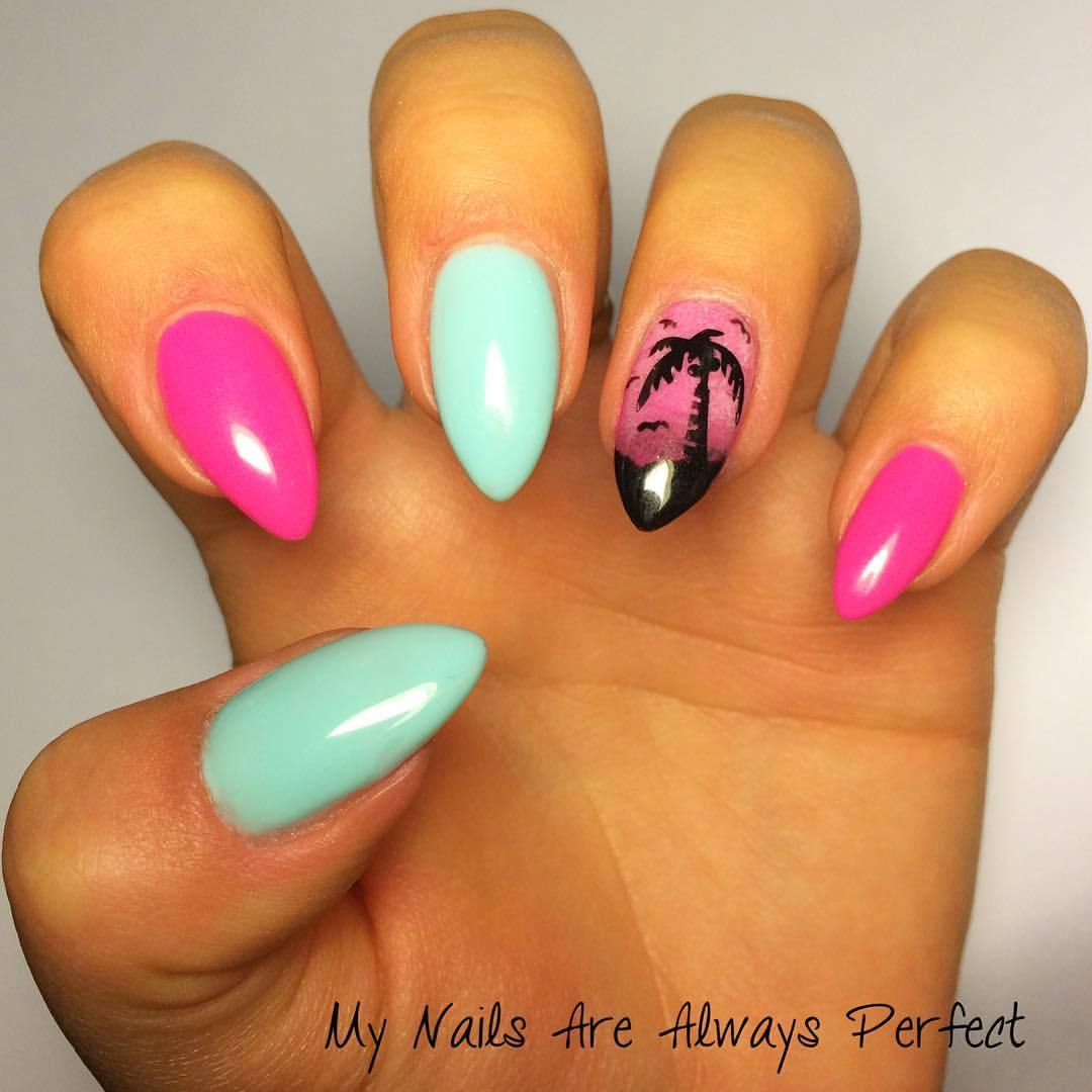 My Nails Are Always Perfect Wakacyjna Palma