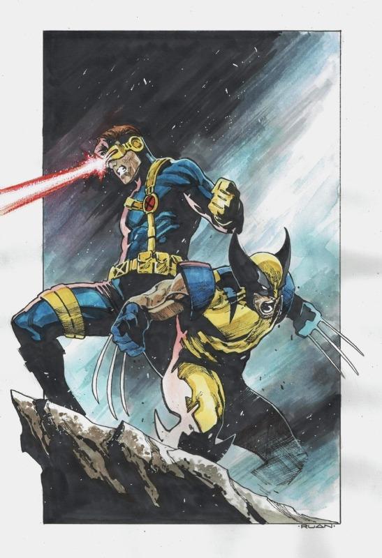 by Dike Ruan – X-Men