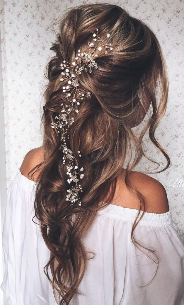 simplybridal — top 10 half up half down bridal hairstyle!