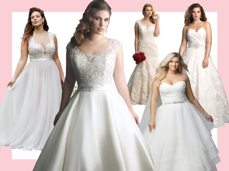 The Knot, 10 Gorgeous Plus-Size Wedding Dresses