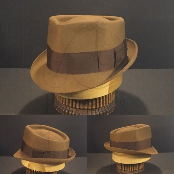 fc81e6f4e5112 Just finished this  watchmen  rorschach hat in a different color. This one  is Whiskey with vintage rust grosgrain ribbon.