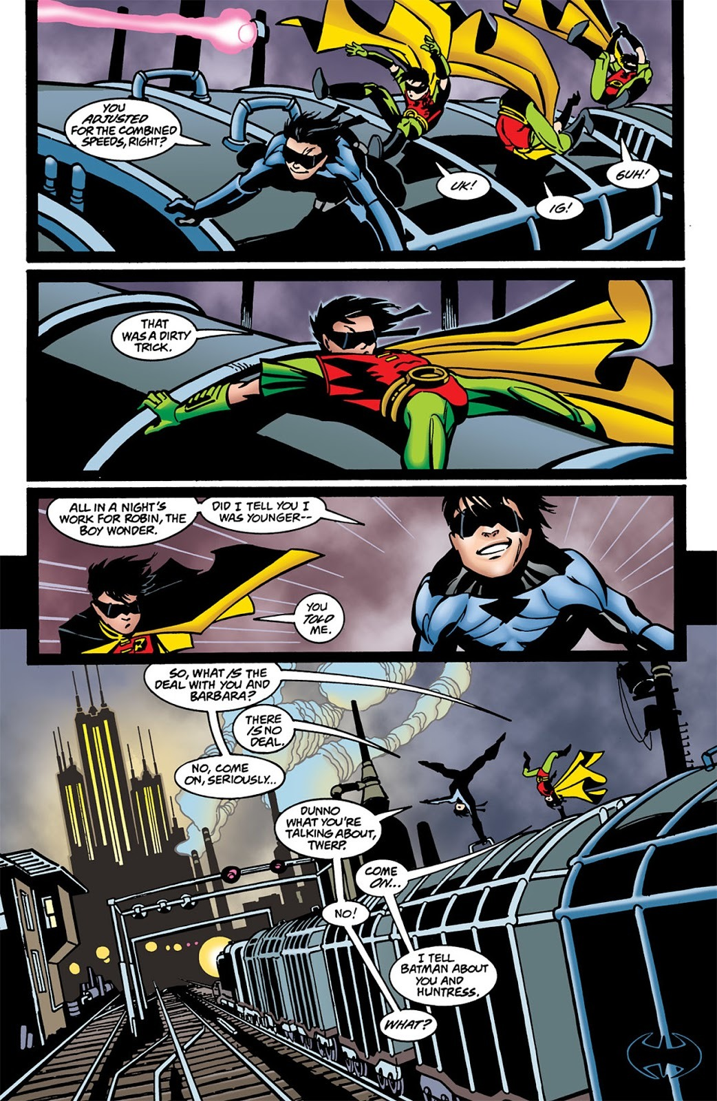 Image result for nightwing #25 the boys