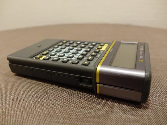 Der Psion Organiser II. Ein Stück meines Computermuseums aus den 90er Jahren.