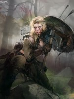 Image result for blonde viking character