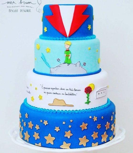Resultado de imagem para bolo o pequeno principe