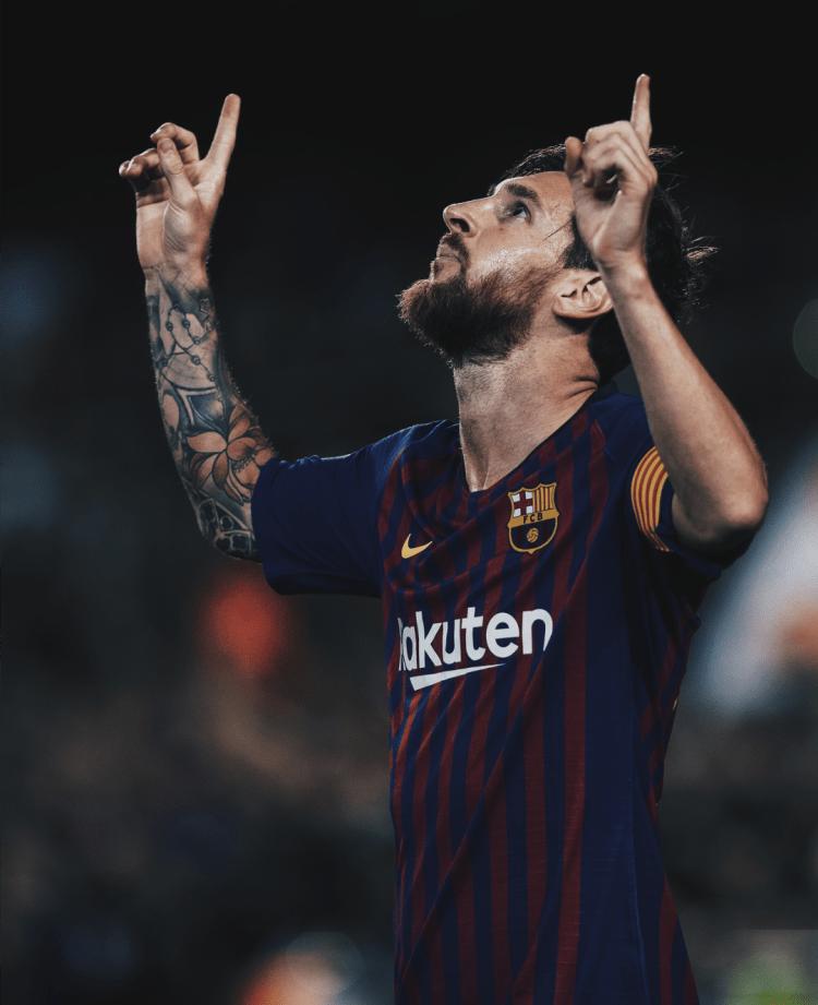 Messi esultanza Barca