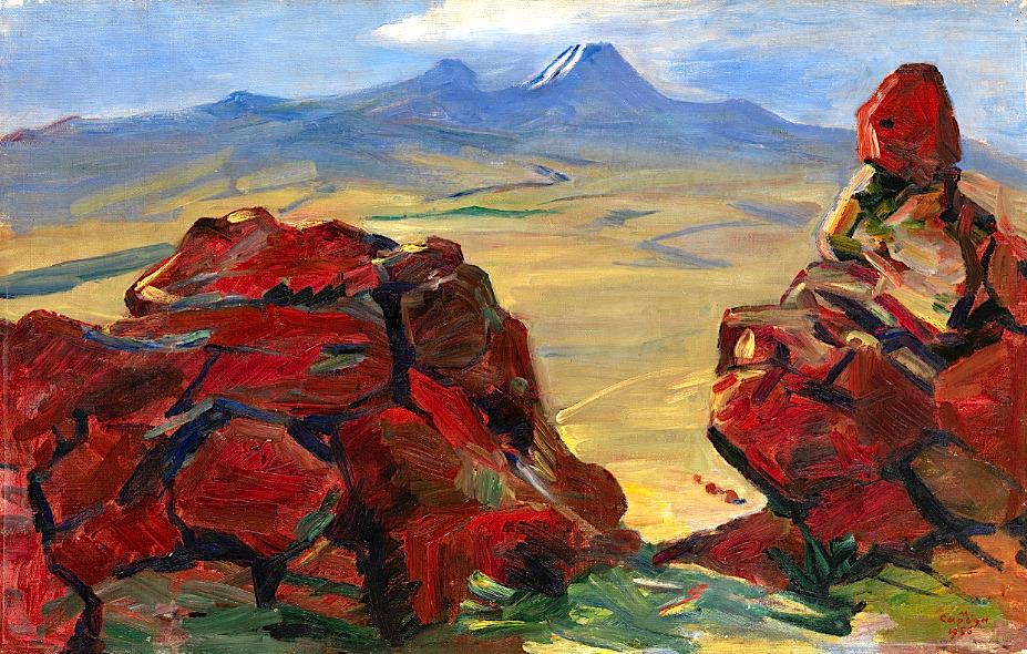 bofransson:SARYAN, MARTIROS(1880-1972)Red Stones