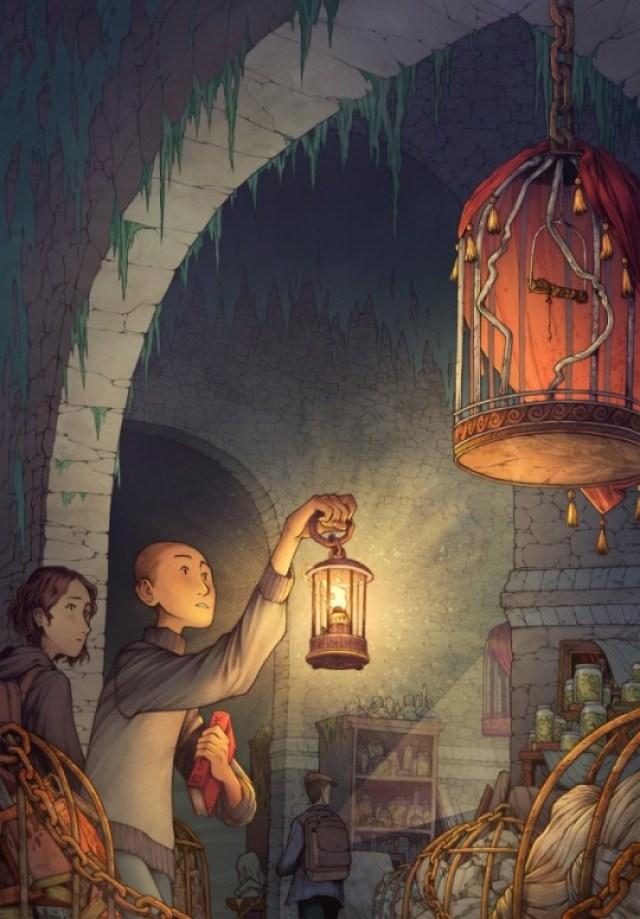 Fascinating illustrations from illustrator James Firnhaber.