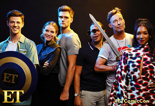 The Flash cast at San Diego Comic Con 2019 – The Flash