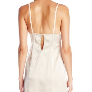 Lightweight slip with lace cups, adjustable shoulder straps and single-button closure back, October 28, 2019 at 07:12PM