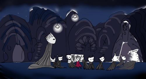 Too Weak Little Ghost Git Gud Hollow Night Hollow Art Knight