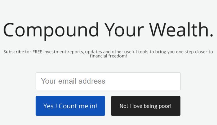 No! I love being poor!