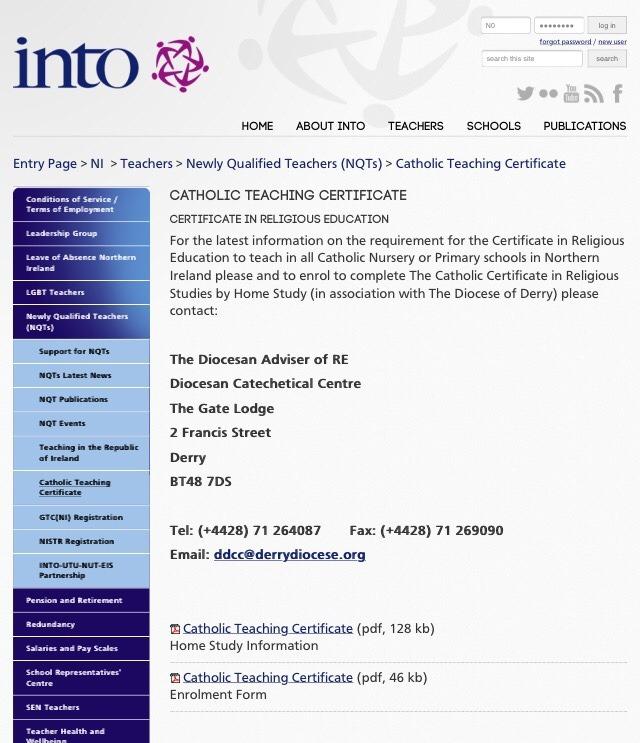 Brian John Spencer To Teach In A Catholic School In