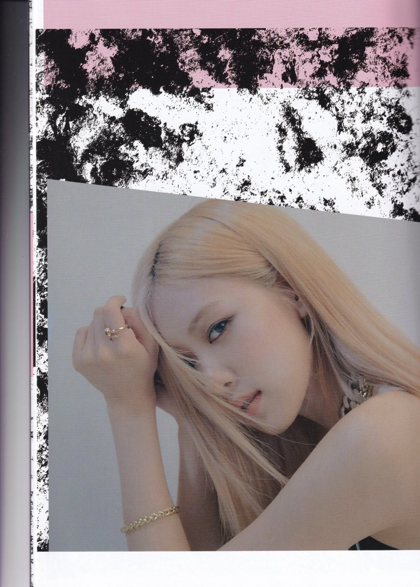 Scan Rose For Kill This Love Japanese Ver Blackpink