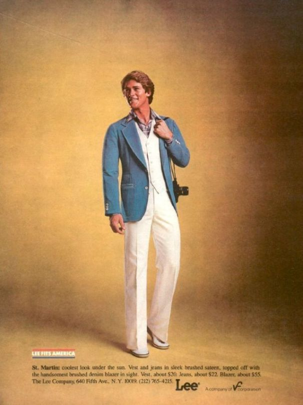 a78bb648e86a6 Get A Leg Up With LEE: 12 impressive ads that defined the '70s men's jeans.