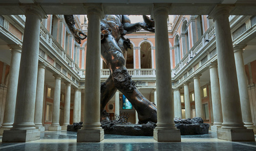 tumblr_oqrki0BY6l1qfc4xho1_500 Damien Hirst, Venice underwater fantasy exhibition, Treasures,... Contemporary