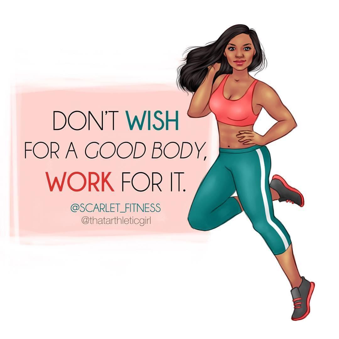 Commission for @scarlet_fitness done last week 🔥 #workforit #arthlete #commission #fitnessillustration