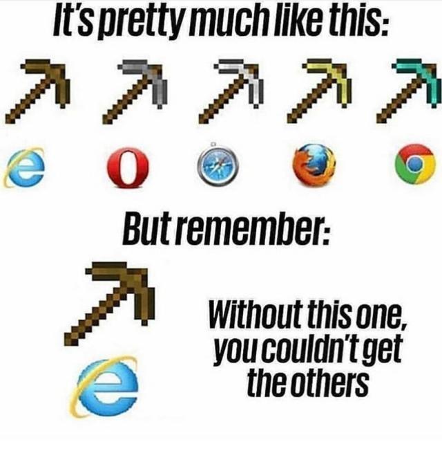 Internet Explore Meme Tumblr