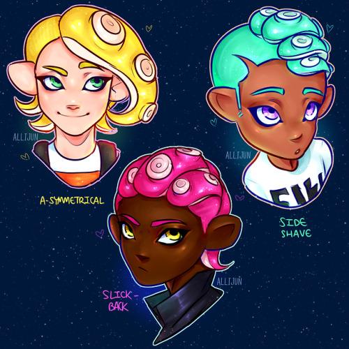 Splatoon 2 Hairstyles Tumblr