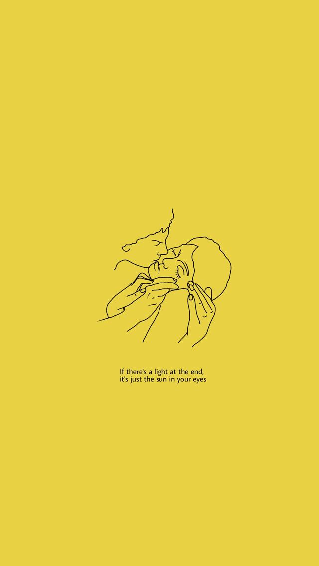 Tumblr Popular Aesthetic Yellow Wallpaper Iphone Dedemax