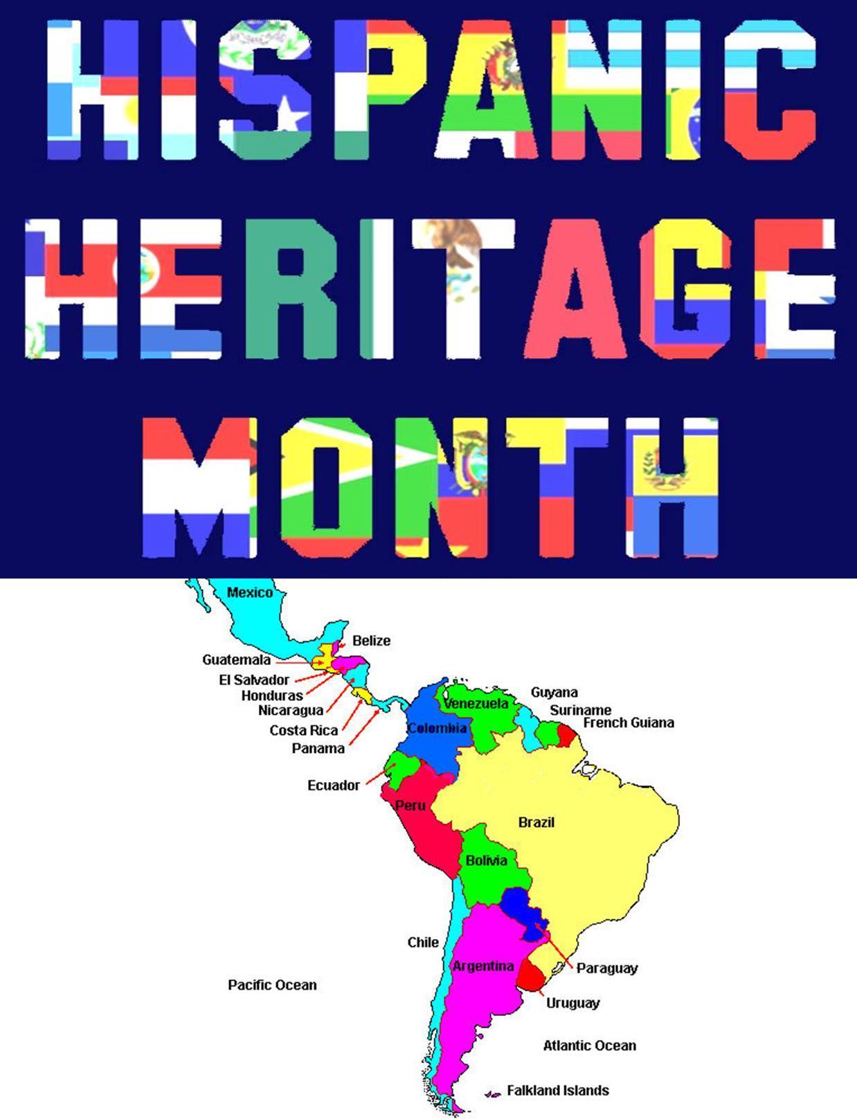 On Display Hispanic Heritage Month Celebrate