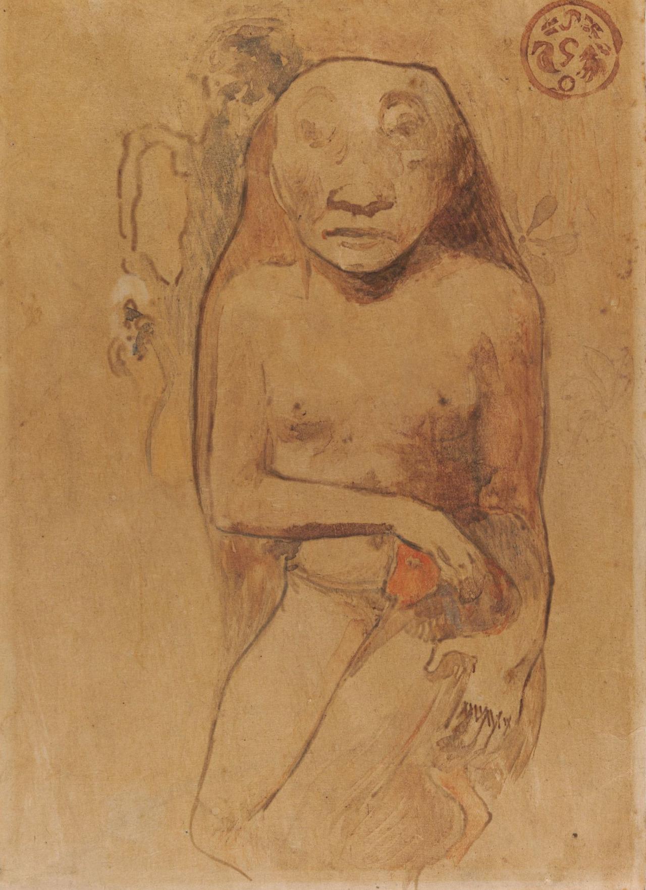 """thatsbutterbaby: """"  Paul Gauguin, Oviri, 1894. """""""
