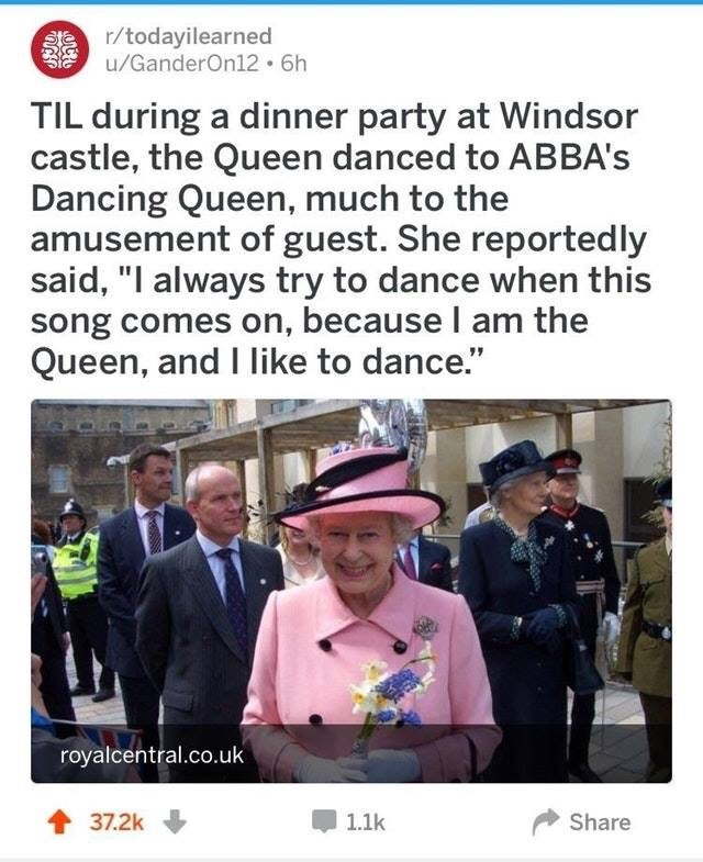 Well Technically Abba Queen Dancing Funny Catchymemes