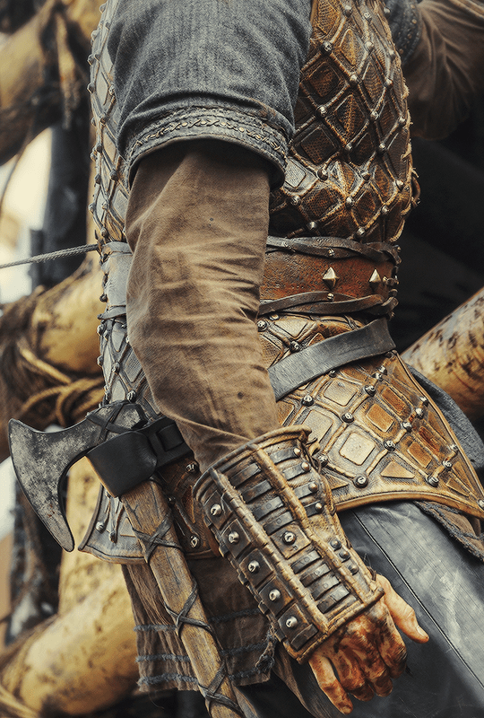 Vikings +  Costume Details |  ©
