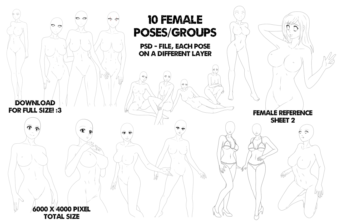 Art Refs And Nsfw