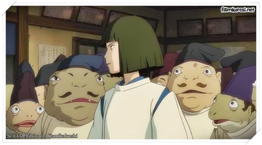 Sen to Chihiro no Kamikakushi,2001,Ruhların Kaçışı,Spirited Away,Rumi Hîragi,Miyu Irino,Mari Natsuki