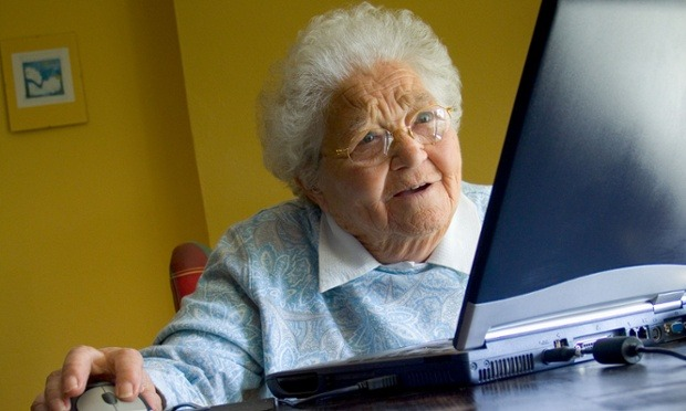 Image result for grandma hacker