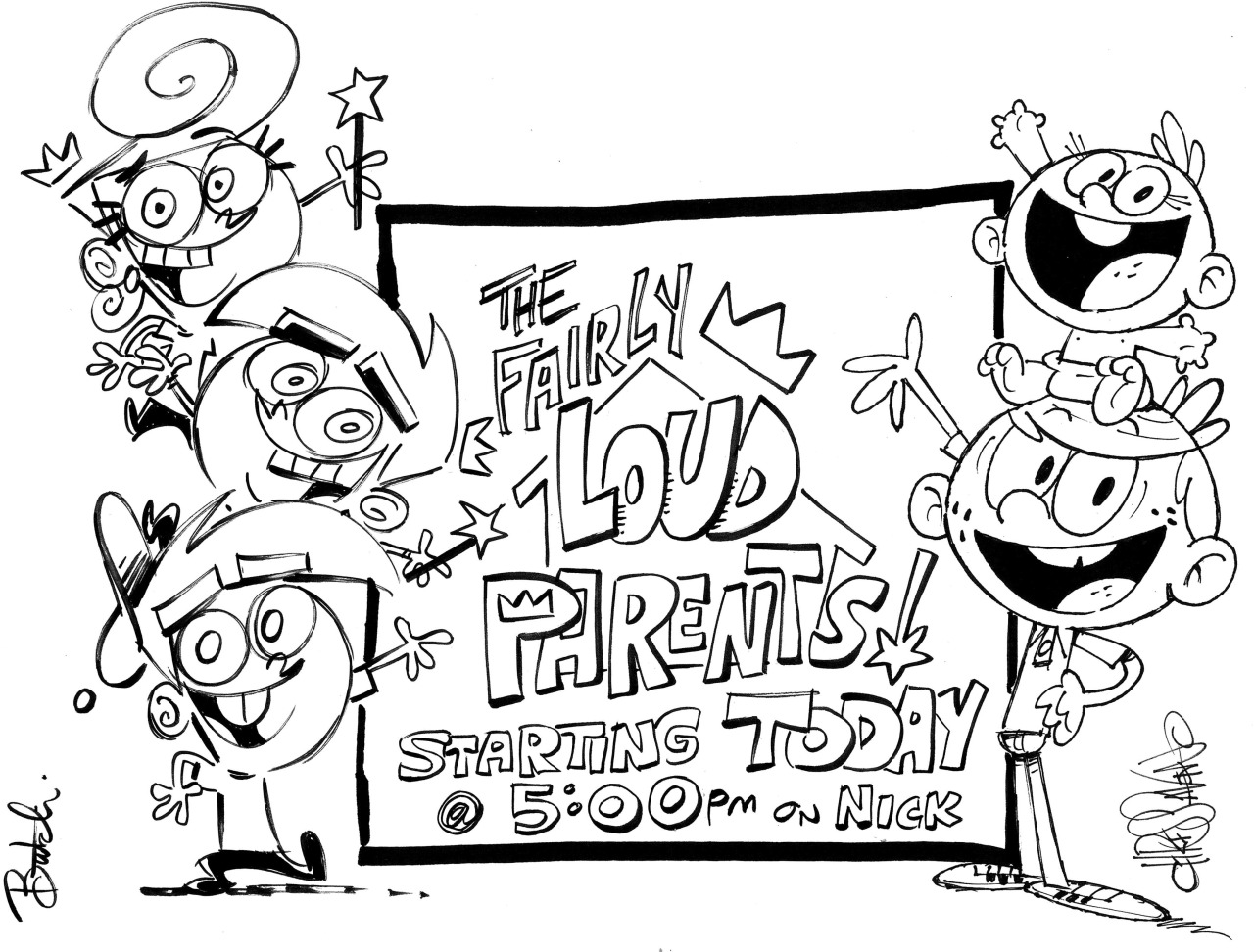The Fairly Loud Parents Fop Loud House Crossover