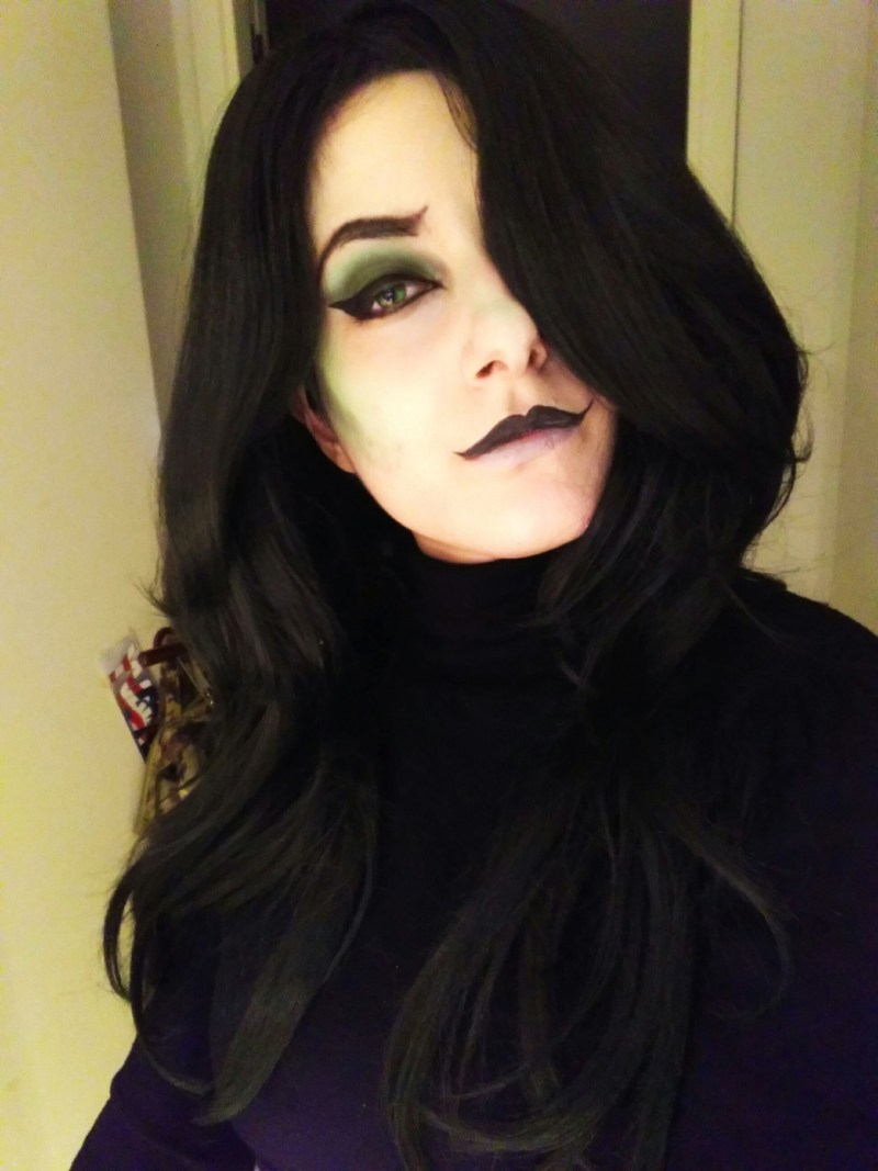 I Missed Doing My Shego Makeup