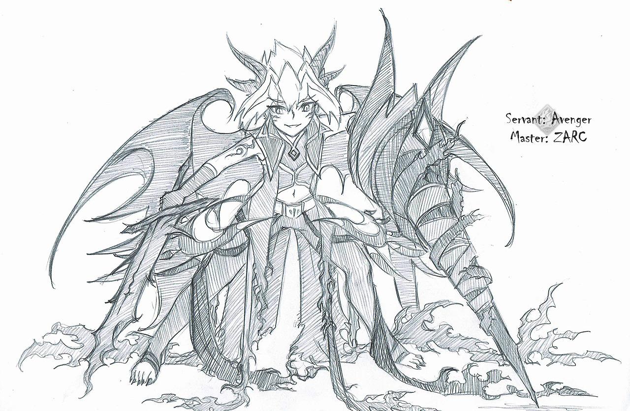 Zheryl Fate Arc V Yuya Caster Master Yuzu Yuto