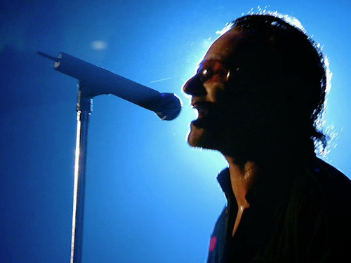 Bono. Das Symbolbild auf dem Screen des iPod U2