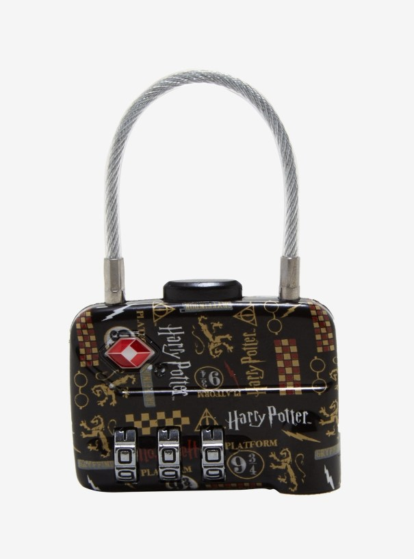 3e1b2a48ad Harry Potter luggage lock found at Box Lunch.