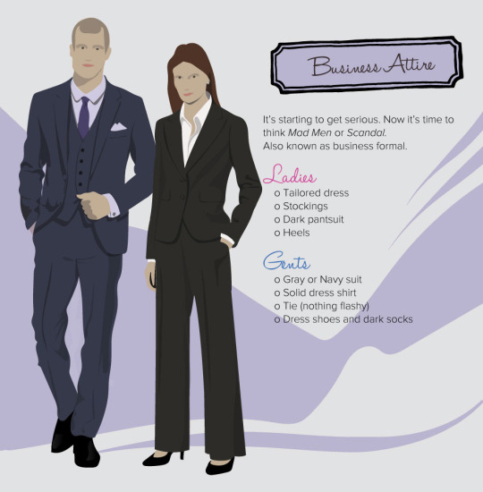 decoding dress code business attire