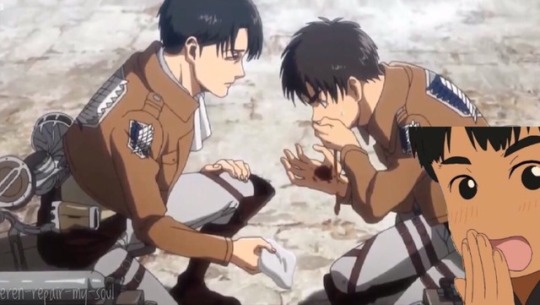 Levi And Erwin Mustache Attack On Titan Shingeki No Kyojin