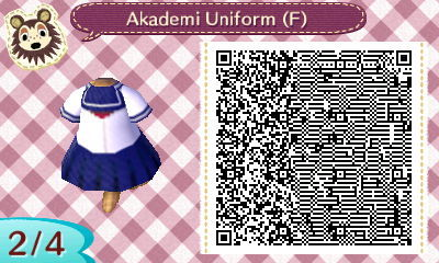 The Design ZoneQR Codes For Animal Crossing NL 200 Yandere Simulator Akademi High School