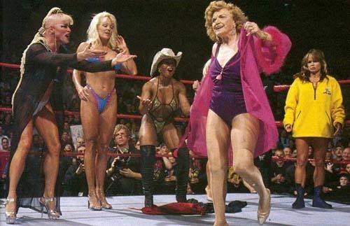Miss rumble 2000 bikini contest