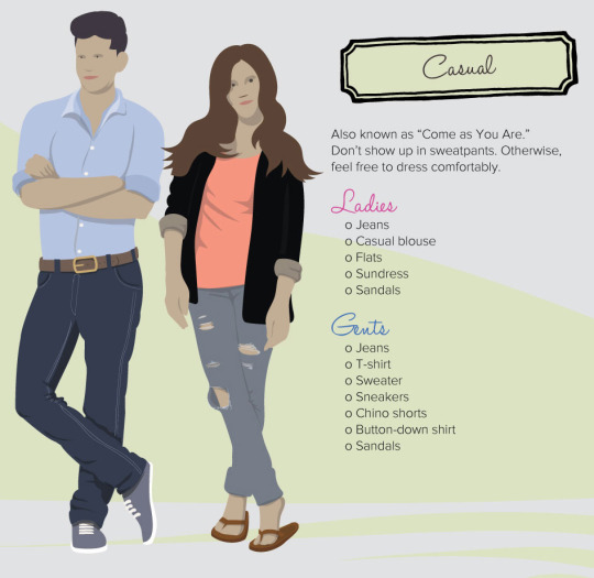 decoding dress code casual