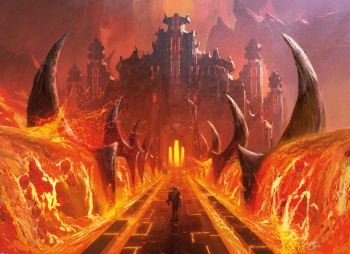 Image result for rakdos guildgate art