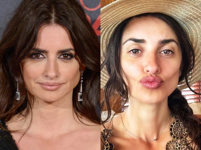 women without make-up