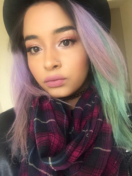 Lilac Hair On Tumblr