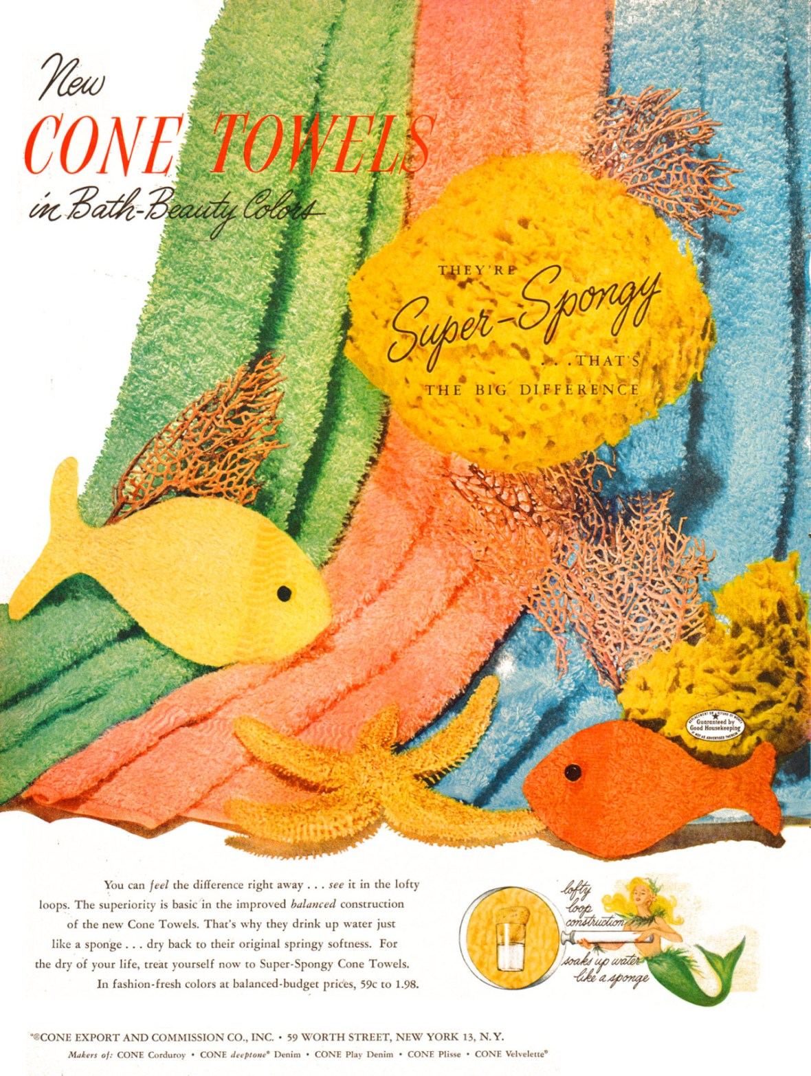 Cone Towels - 1952