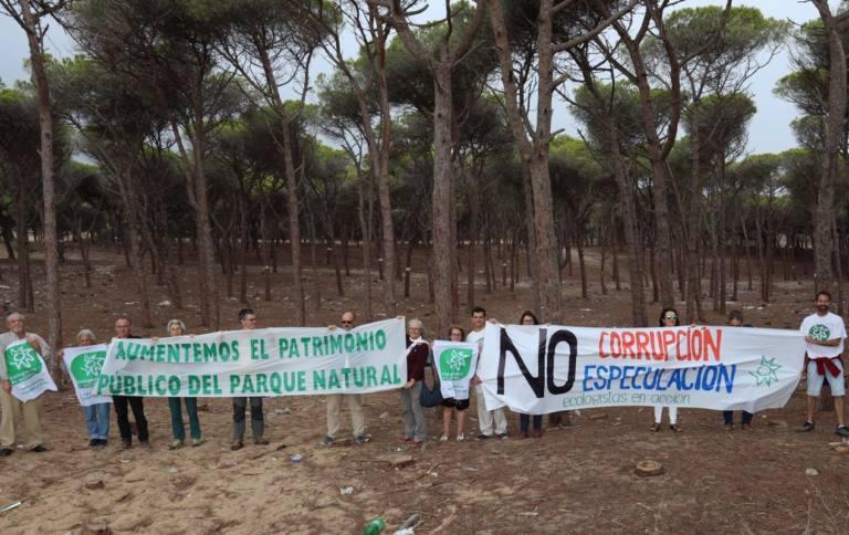 La Junta de Andalucía autoriza la 'infame' urbanización del pinar de Barbate (Cádiz)