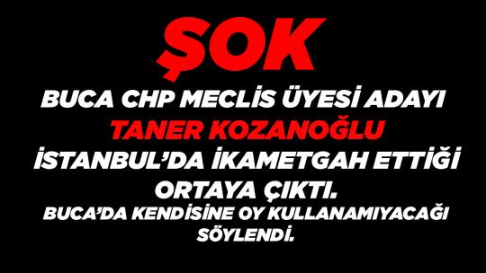 ŞOK CHP Buca Adayı İstanbul'da İkametgah Ettiği Ortaya Çıktı.
