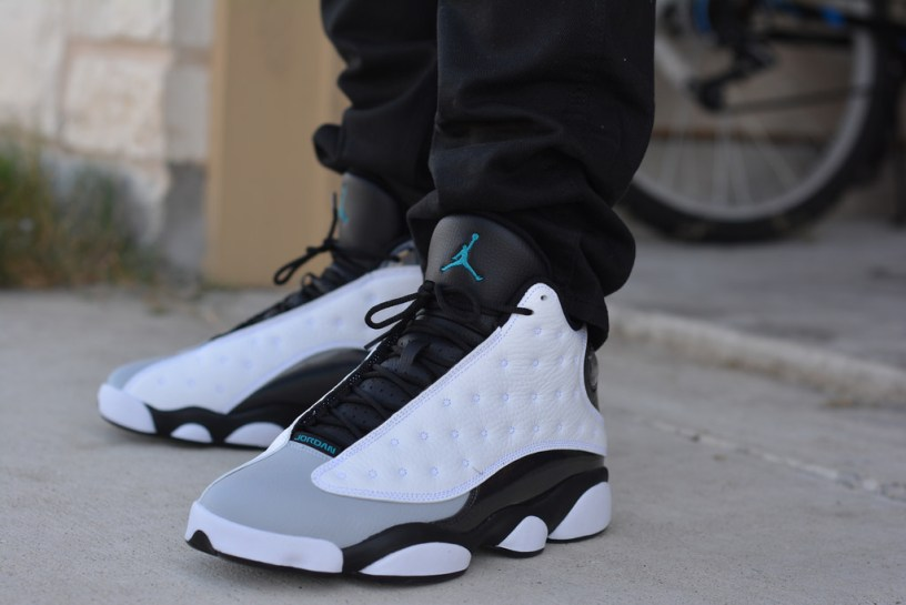 Air Jordan XIII White and Black for men